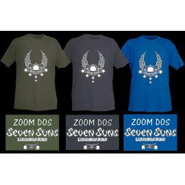 T-Shirt Homme Modèle Seven Suns