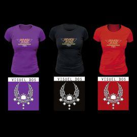 T-Shirt Femme Modèle Seven Suns